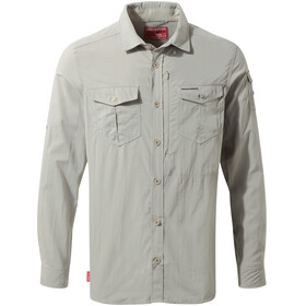 Craghoppers M's NosiLife Adventure LS Shirt Parchment
